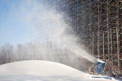 Snowdrift artificial foto de stock