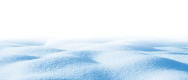 Drifts on white background royalty free stock photography