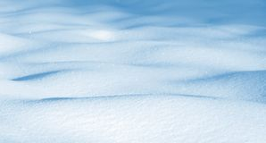 Snowdrifts από το καθαρό χιόνι Στοκ Φωτογραφίες
