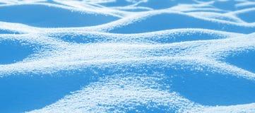 Snowdrifts από το καθαρό χιόνι Στοκ Εικόνα
