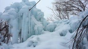 Snowdrifts, παγετός πάγου παγακιών Στοκ εικόνα με δικαίωμα ελεύθερης χρήσης