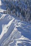 Snowdrifts Stock Photo