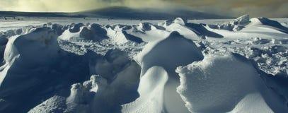 snowdrifts Royaltyfria Foton