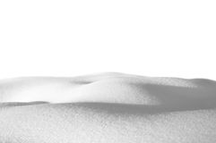 snowdrifts Arkivbild