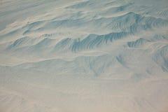 Snowdrifts tekstura Obrazy Royalty Free