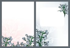 Snowdrops. Elements for the design vector illustration