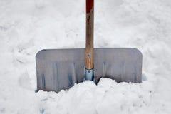 Snowe shovel Royalty Free Stock Image