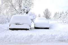 Snowed in Stock Image