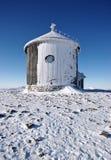 Snowed chapel Stock Photography