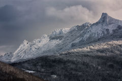 Snowed mountains Royalty Free Stock Photography