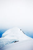 Snowed peak Royalty Free Stock Image