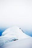 Snowed peak royalty free stock image