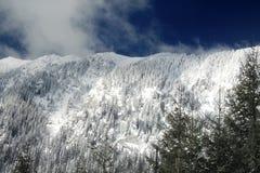 Snowed ridge Stock Images
