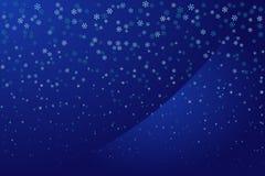 Snowfall Royalty Free Stock Photography