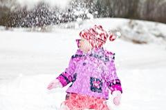 Snowfall Stock Photography