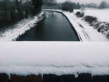 snowfall Foto de Stock Royalty Free
