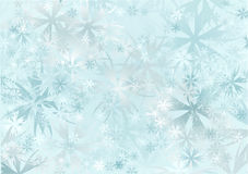 Snowfall royalty free illustration