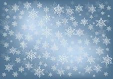 Snowfall_background Fotos de Stock Royalty Free