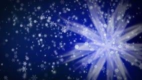 Snowfall background stock video