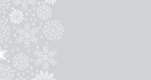 Snowfall background with copy space. Abstract snowfall background with place for text,  illustration Stock Photography