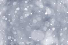 Snowfall background Royalty Free Stock Photo