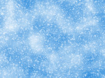 Snowfall backgrounds of a sunlight cold weather Stock Photo