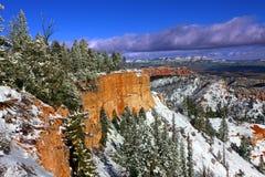 Snowfall in Bryce Canyon Royalty Free Stock Photo