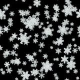 Snowfall generated texture Stock Images