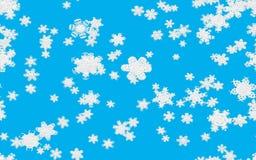 Snowfall illustration Royalty Free Stock Photos