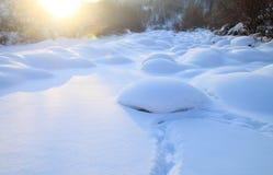 snowfield Imagens de Stock Royalty Free