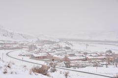 snowfield стоковая фотография rf
