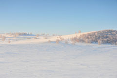 snowfield стоковое изображение rf