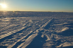 Snowfield Stock Image