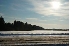 Snowfield Royalty Free Stock Photo