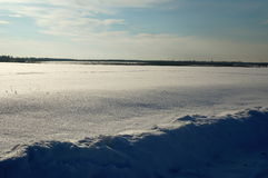 Snowfield Stock Photo