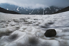 Snowfield Stock Images