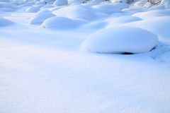 Snowfield Royalty Free Stock Photos