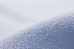 Snowfield in winter Royalty Free Stock Photos