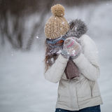 Snowfight Royalty Free Stock Image