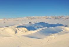 Snowfiled Стоковое Изображение RF
