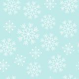 Snowflake άνευ ραφής σχέδιο Στοκ Εικόνα