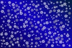 snowflake ανασκόπησης Στοκ Φωτογραφία