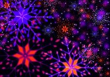 Snowflake απεικόνιση στοκ φωτογραφία με δικαίωμα ελεύθερης χρήσης