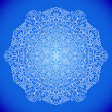 Snowflake από τους στροβίλους Στοκ εικόνες με δικαίωμα ελεύθερης χρήσης