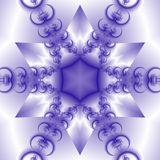 snowflake αστέρι Στοκ εικόνες με δικαίωμα ελεύθερης χρήσης