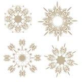 snowflake διάνυσμα Στοκ Εικόνες