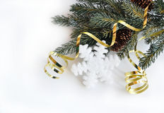 snowflake διακοπών χειμώνας Στοκ φωτογραφίες με δικαίωμα ελεύθερης χρήσης