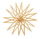 snowflake διακοσμήσεων μορφής Στοκ Εικόνες