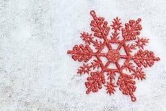 Snowflake διακοσμήσεων Χριστουγέννων. Στοκ εικόνα με δικαίωμα ελεύθερης χρήσης