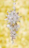 snowflake διακοσμήσεων Χριστο&upsilo Στοκ φωτογραφίες με δικαίωμα ελεύθερης χρήσης